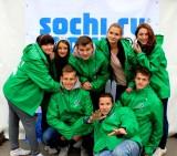 Студенты РГУТиС - волонтеры Сочи 2014