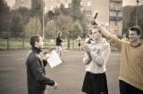 Соревнования по футболу в Кампусе РГУТиС