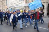 На параде московского студенчества