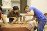 На конкурсе `Макаронный строитель-2015`