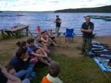 тренинг по дайвингу летней школы туризм