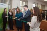 Открытие библиотеки Сбербанка