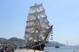 Учебное парусное судно `Паллада`