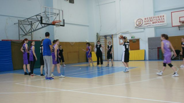 Первенство МГПУ по баскетболу