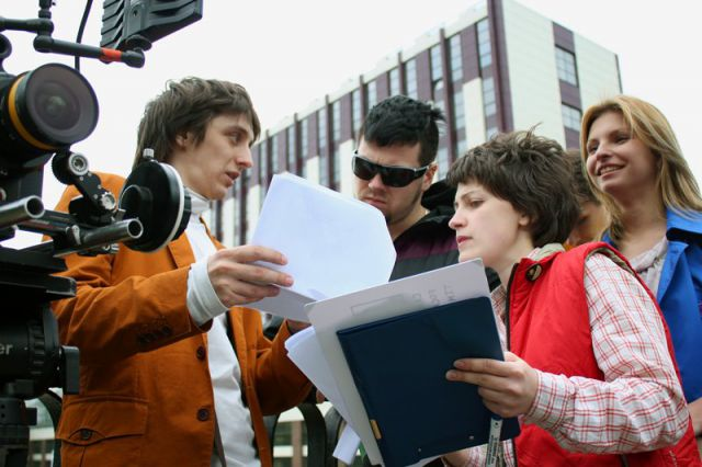Съёмки дипломного проекта