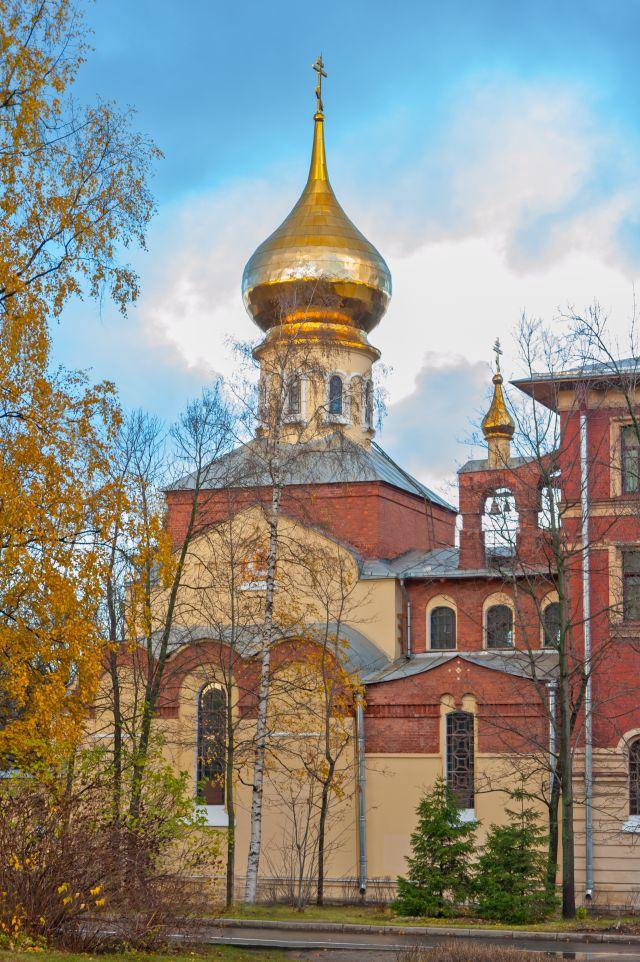 Храм Покрова Пресвятой Богородицы при СПбГПУ