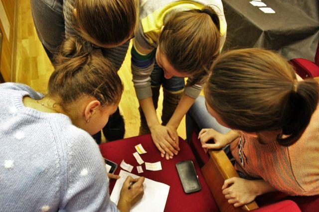 Игра для первокурсников «Форт Боярд»