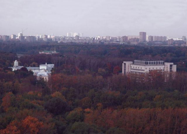 Территория МосГУ