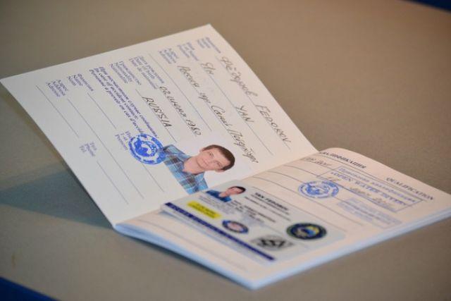 международный сертификат CMAS начального уровня