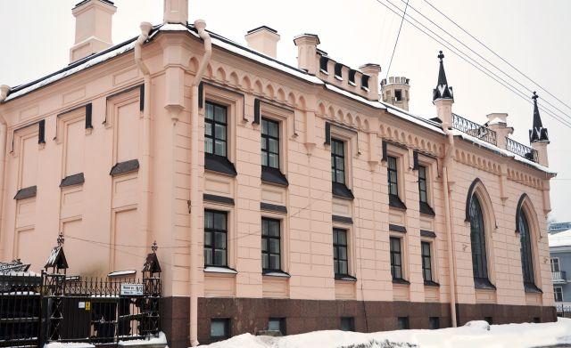 Второй корпус Института по адресу: ул.Малая д.9