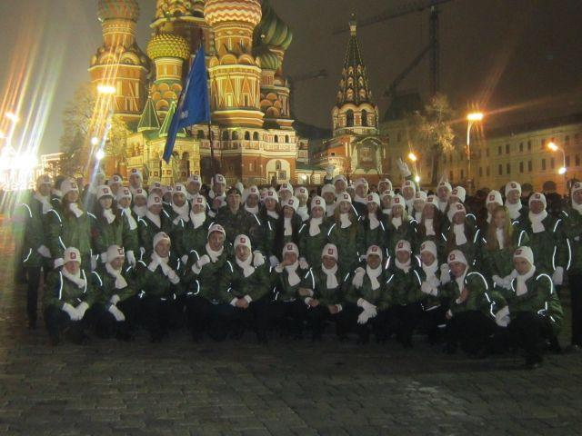 МСЭИ-торжественный парад