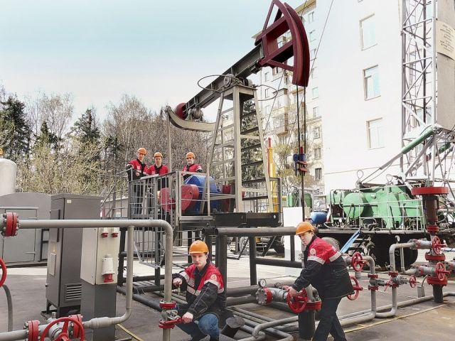 Территория РГУ нефти и газа им. Губкина
