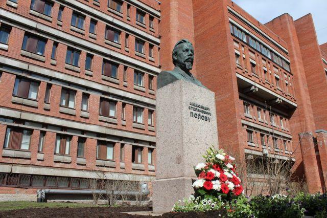 Памятник А.С. Попову