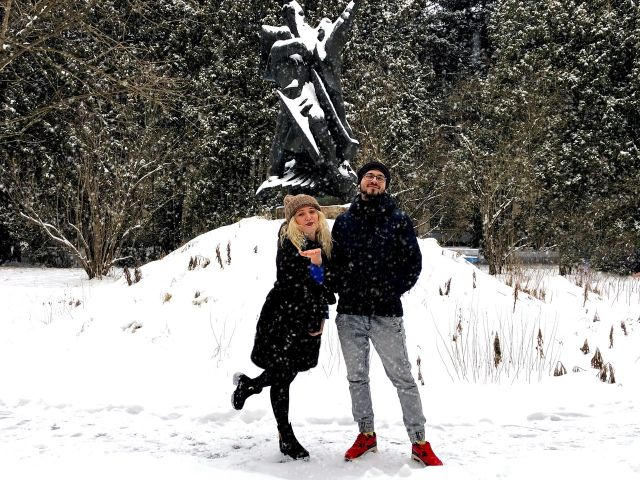 Зима в МосГУ