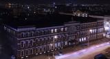 Семинария ночью