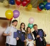 Поздравляем с получением дипломов!