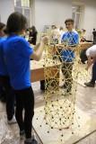 На конкурсе `Макаронный строитель-2015` - Санкт-Петербургский государственный архитектурно-строительный университет