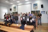 Вручение сертификатов и дипломов