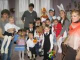 Новогодняя сказка в подшефном детском доме