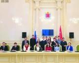 Студенты на практике в Законодательном собрании