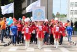 Студенты БУКЭП на параде первокурсников