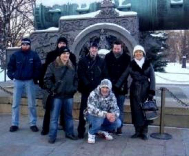 Студенты АМИ на очередной экскурсии
