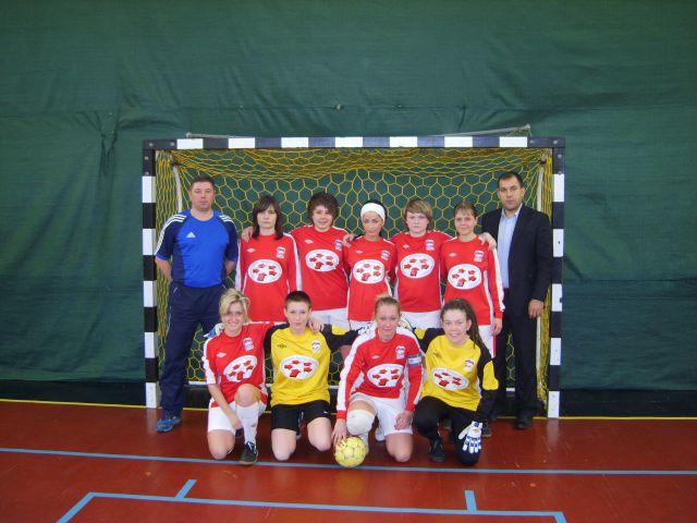 Женская мини-футбольная команда АМИ