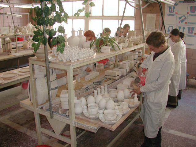 Работа в мастерских ГГУ